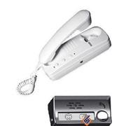 Комплект аудиодомофона: трубка абоненская и дверной металлический блок фото