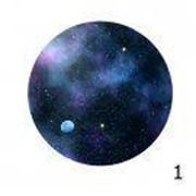 Noname Подвесная панель «Звездный диск» ( 8 вариантов рисунка панели) фото