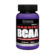 Аминокислоты, BCAA 500 mg, 120 капсул фото