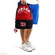 Спортивный рюкзак Jordan (красный) фото
