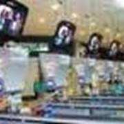 Размещение видеорекламы в магазинах, супермаркетах фото