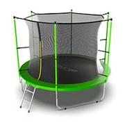 Батут с внутренней сеткой и лестницей EVO JUMP Internal 10ft (Green) фото