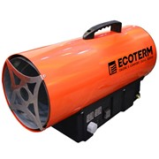 Аренда тепл.пушка Ecoterm GHD-15 + балон 12л 12 час фото