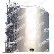 Резервуар вертикальный стальной типа РВС фото