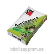 Смесь для приклеивания и защиты утеплителя ППС плит Baumit Bau Contact фото