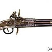 """Декоративный пистоль """"Роловер"""" 2-х ствольный , Англия 1750 г. фото"""
