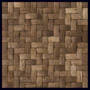 Мозаика из скорлупы кокоса фото