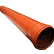 Труба для внешней канализации Ø 110, 160 фото