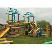 Деревянные детские площадки в Кишиневе фото