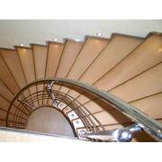 Винтовые лестницы из нержавейки фото