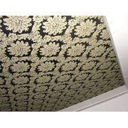 Натяжные потолки тканевые фото