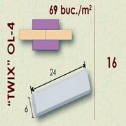 Плитка фасадная Twix OL-4 фото