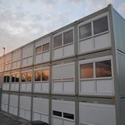 Модульное здание на базе блок-контейнеров фото