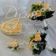 Букет невесты подушечка для колец. фото