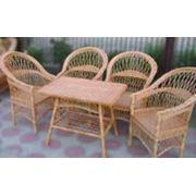 Садовая мебель из ротанга фото