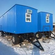 Вагон дом на шасси на 8 чел., передвижной вагон, мобильный вагон фото