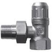 Клапан запорный для радиатора угловой 1/2 дюйм Valtec VT09, арт.14982 фото