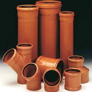 Трубы и фитинги для канализации фото