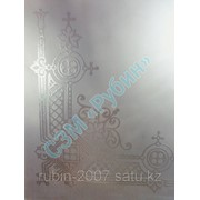 Лазерная гравировка на стекле образец 2 фото