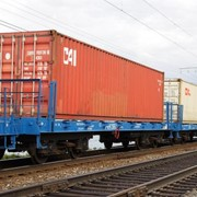 Грузоперевозки железнодорожным транспортом фото