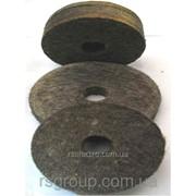 Круг войлочный полировальный 55х20х22 (плотный) фото