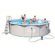 Стальной бассейн Hidrium Pool Set, 460х120см, 17430л (BestWay) фото
