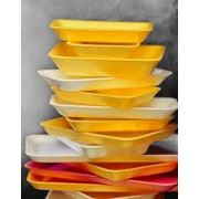 Лотки и подложки для пищевых продуктов