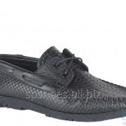 Туфли мужские 161-012, черный фото