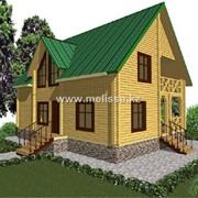 Дом из конструкционного бруса № 3.3 фото