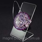 Декоративный магнит подхват для тюлей и штор № 43-102 фото