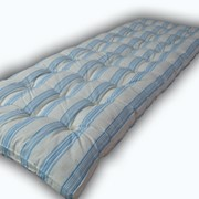 Матрац ватный одинарый (70х190), ткань тик матрасный оптом и в розницу фото