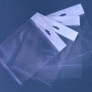 Пакеты полипропиленовые с европодвесом и клеевым клапаном фото