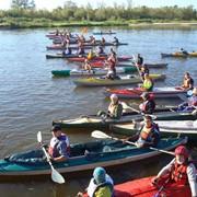 Организация и проведение водных походов на байдарках фото