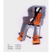 Велосипедное детское кресло Bellelli Rabbit SportFix, цвет: серебряное фото