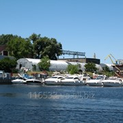 Стоянка яхт и катеров фото