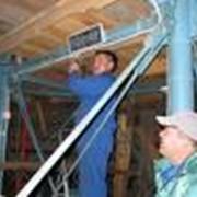 Монтаж систем электроснабжения и освещения фото