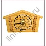 """Термометр банный """"Избушка"""" 23*12,5*2,5см. 18014 /5/ фото"""