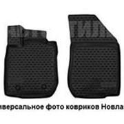 Коврики в салон FORD Tourneo Custom (1+1 seats), 2013-> , 2 шт. Новлайн фото