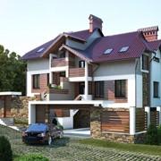 Декорирование фасада дома фото