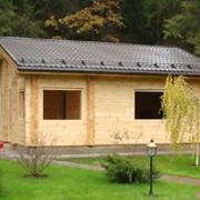 Дачный дом из клееного бруса фото