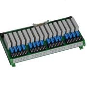 Модули дискретных выходов серий OS-04xx/OR-04xx монтаж внешний на DIN рейку фото