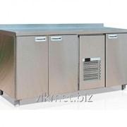 Холодильный стол Carboma BAR-480 нерж. сталь фото