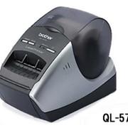 Принтер Brother QL-570 для печати этикеток фото