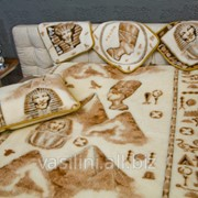 Двухсторонний шерстяной плед радует владельца наличием натурального шерстяного полотна с двух сторон фото
