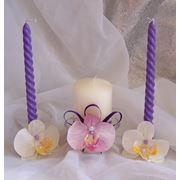 Венчальные и настольные свечи фото
