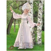 Русский народный костюм «Берёзка» для хороводов / R 0115 фото