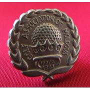 Серебрянный значок Ассоциации Гольфа РМ - 15 евро фото