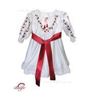 Rochie pentru fetite in stil national moldovenesc фото