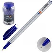 Ручка шариковая EPSILON, серый корпус, 1,0мм, синяя, (INDEX) фото