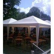 Пошив шатров-тентов для летних кафе и ресторанов фото